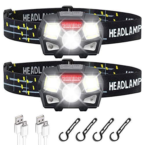 STURME Rechargeable Headlamp Flashlight