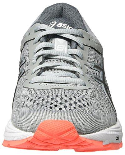 Carbon mid Coral Running Zapatillas Gris Grey De T7a9n9697 Asics Flash Para Mujer x6zgPqw