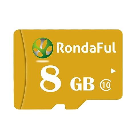 happygirr Tarjeta de Memoria SD SDXC de 8GB Rondaful Pro de ...