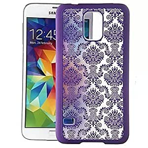 Relief Sculpture Design Style Nano-material Skin-like Feel Back Case Cover for Samsung Galaxy S5 , Pink