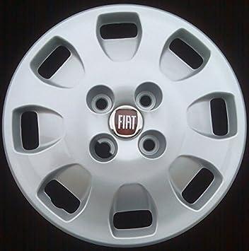 Juego de 4 tapacubos de 33 cm (13 pulgadas) con logotipo de color rojo para ruedas de automóviles: Amazon.es: Coche y moto