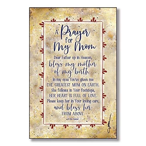 Mom Prayer Wood Plaque Inspiring Quote 6