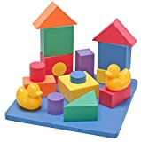 Wonder Blocks Non-Toxic Floating Waterproof Foam Building Blocks