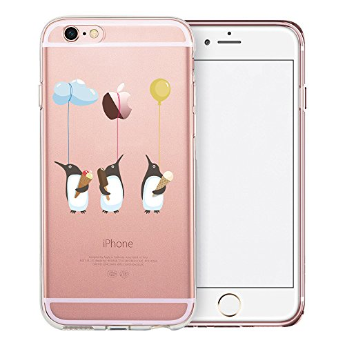 Penguin Book Cover Iphone Case : Iphone s case swiftbox cute cartoon clear for