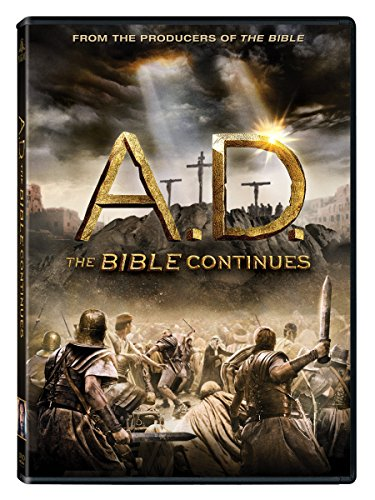 DVD : A.D.: The Bible Continues (, Widescreen, Dubbed, 4 Disc)