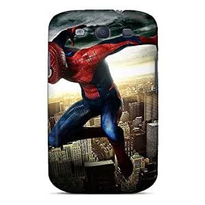 Premium Protection Spiderman In The Air Case Cover For Galaxy S3- Retail Packaging