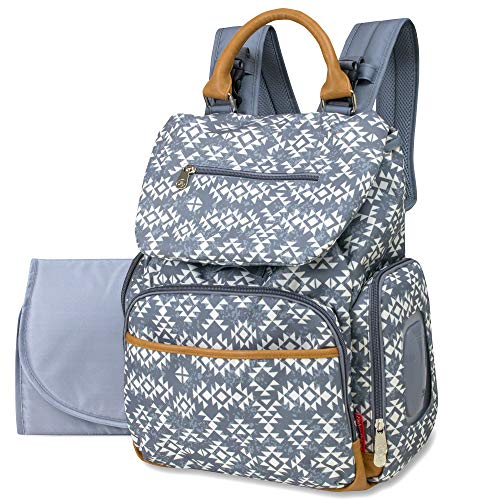 - Drawstring Backpack Baby Bag with Insulated Bottle Pocket, Stroller Clips, and Wipe Storage Pocket