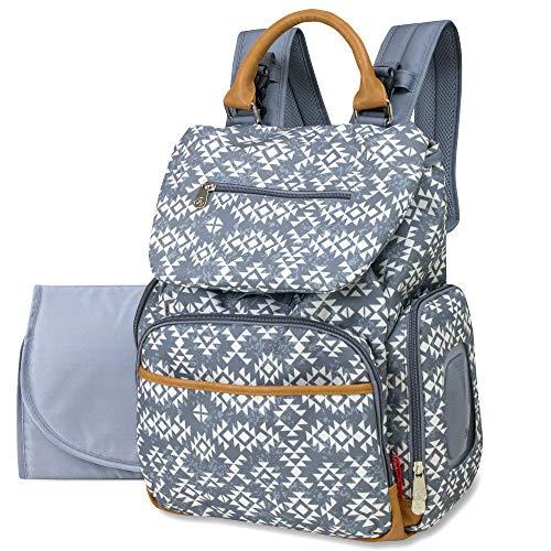 Fisher-Price Shiloh Diaper Bag (Grey)