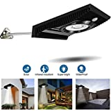 Solar Motion Sensor Lights Outdoor,EJ's Super CAR COB Solar Wall Lights Outdoor,Solar Powered Wireless Waterproof Exterior Security Wall Light Outdoor for Patio,Yard,Garden,Path,Home,Driveway,Stairs