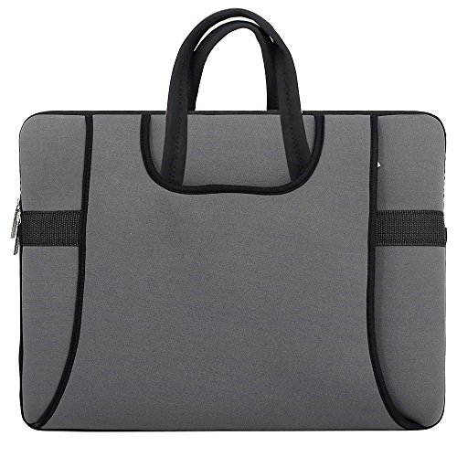 17.3 Inch Laptop Bag, Armor Wear Shockproof Neoprene Sleeve Carry Case Bag With Two Side Pockets for HP 17.3