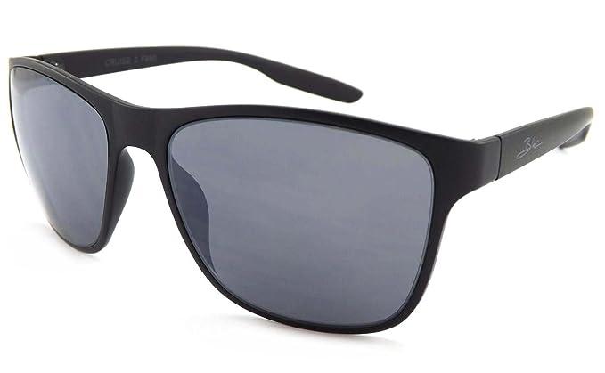 3926ed141f1c5b Bloc Cruise 2 Sunglasses Black with Dark Grey CAT.3 Lenses F850   Amazon.co.uk  Clothing