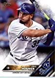 2016 Topps #9 Eric Hosmer Kansas City Royals Baseball Card in Protective Screwdown Display Case