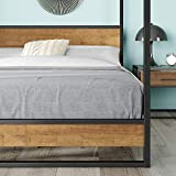 ZINUS Suzanne Metal and Wood Platform Bed Frame
