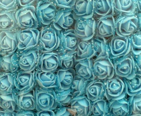Come Vere al Tocco in Schiuma di polietilene con Velo 144 Pezzi CTGVH Rose Artificiali per Feste Decorazioni Matrimoni Bouquet Compleanni bricolage