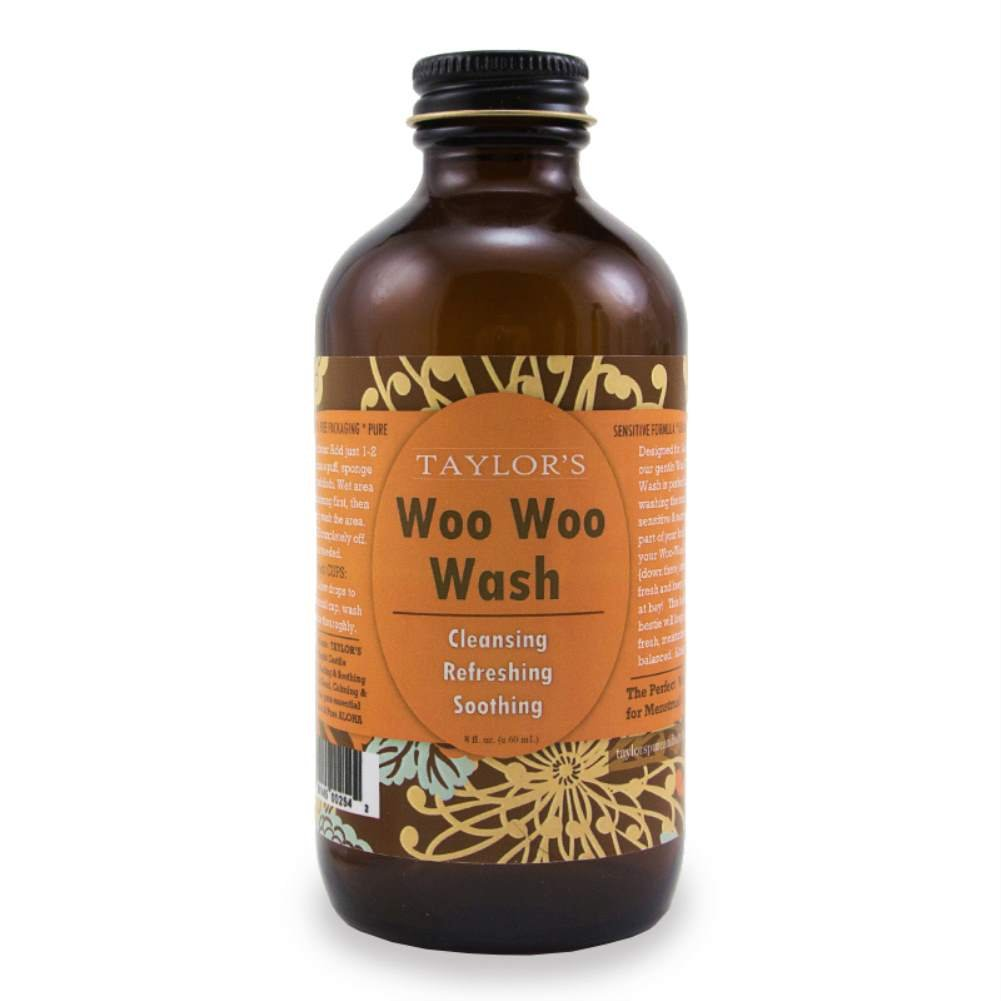 ELEVATED (by TAYLOR'S) Woo Woo Wash - All Natural Feminine Wash - Keeps You Fresh, Moisturized & Balanced - Made in USA! (Balanced, 8 Ounce)