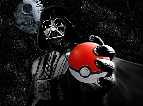 Vader Pokemon Pokeball Playmat 24 x 14 inch by RFG REMOVE FROM GAME
