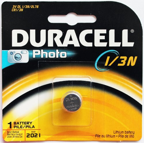 Duracell DL1/3N CR1/3N 2L76 5018LC K58L 3V Lithium Battery