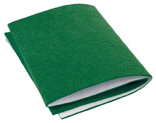 Shepherd Hardware 9433 6-Inch x 18-Inch Self-Adhesive Felt Pad, Green