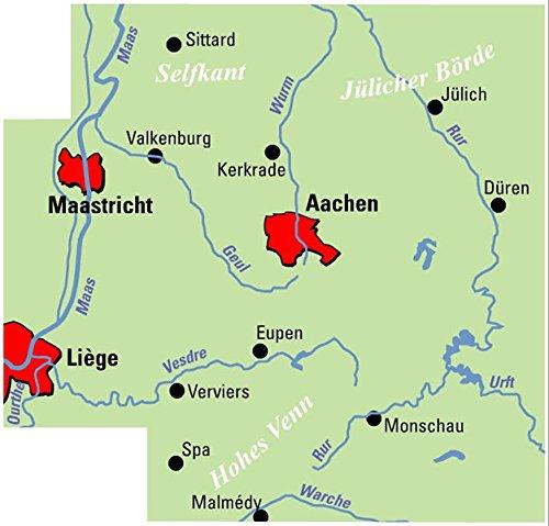 ADFC-Regionalkarte Aachen /Dreiländereck, 1:75.000, reiß- und wetterfest,  GPS-Tracks Download: Mit Knotenpunktsystem in Belgien, Niederlande und ...  Texte (ADFC-Regionalkarte 1:75000) : Allgemeiner Deutscher Fahrrad-Club  e.V. (ADFC), BVA Bielefelder ...