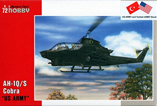 Special Hobby AH-1Q/ S Cobra US Army & Turkey Model Kit (1/72 Scale)