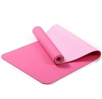 XLYJYP Alfombra de Yoga TPE, Alfombra de Fitness Ambiental ...