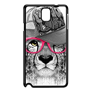 Ghetto Cheetah Black Hard Plastic Case for Galaxy Note 3 by Gangtoyz + FREE Crystal Clear Screen Protector