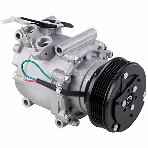 AC Compressor & A/C Clutch For Honda Civic & Prelude w/ 1-Wire Connector - BuyAutoParts 60-00816NA NEW