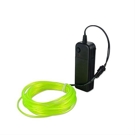 LYZHM - Cable de luz de neón para lámpara de mesa con los colores ...