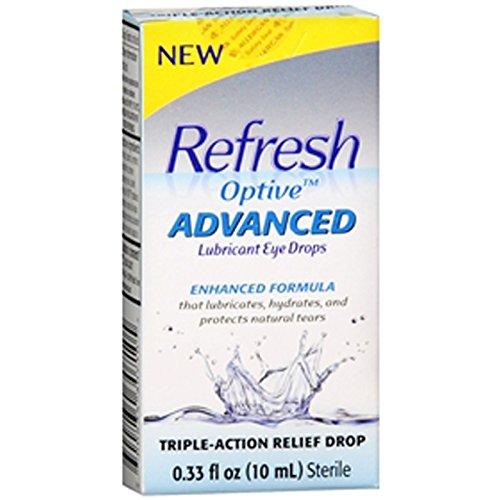Actualiser Drops Optive Lubrifiant avancée Eye - 0,33 onces liquides