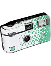 Ilford HP5 + wegwerpcamera met flitser, wit en zwart