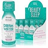 Dream Water Beauty Sleep Aid, Natural Melatonin, Biotin, Juvecol, 2.5oz Shot, 12 Pack