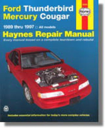 H36086 Haynes Ford Thunderbird Mercury Cougar 1989-1997 Auto Repair ()