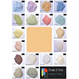 #CP3 - SUNRAY ORANGE - CHALK 2 CHIC 11oz / 312g POWDER CHALK diy PAINT makes up to 2 Litres of shabby chic eco CHALK FURNITURE PAINT by Chalk2Chic