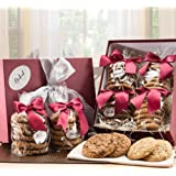 Dulcet's Oatmeal Raisin and Macadamia Cookie Sampler Gift Box-24 Count by Dulcet