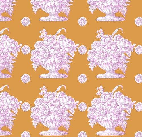por Kaffe Fassett Collective por 0,5 Metros 100/% algod/ón COATS098 Lotus Leaf Citrus Free Spirit Kaffe FashseTTFABRICS