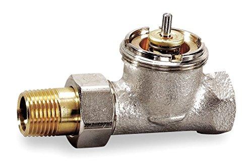 Honeywell, Inc. V110D1000 1/2 inch High Capacity Thermostatic Radiator Valve, - Straight Valve Radiator