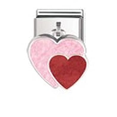 Nomination Composable Women's Bead Classic Charms 925 Silver Angel with Heart U6dkV