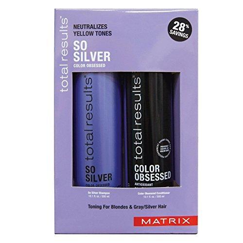 Matrix Total Results So Silver Shampoo and Conditioner Duo 10.1oz each
