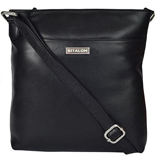 Premium Leather Crossbody Slim Bag for Women - Handmade Cros