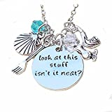 Inspirational Necklace Pendant For Woman Teen Girls Inscribed Sea Beach Jewelry Prime Gift