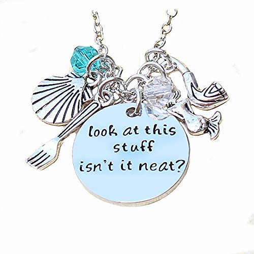 [Inspirational Necklace Pendant For Woman Teen Girls Inscribed Sea Beach Jewelry Prime Gift] (Sixties Costumes Ideas)