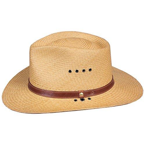 Jual Genuine Panama Hat Khaki Color 3 inch Brim USA Made No. 2 ... 3baef9f04c3b