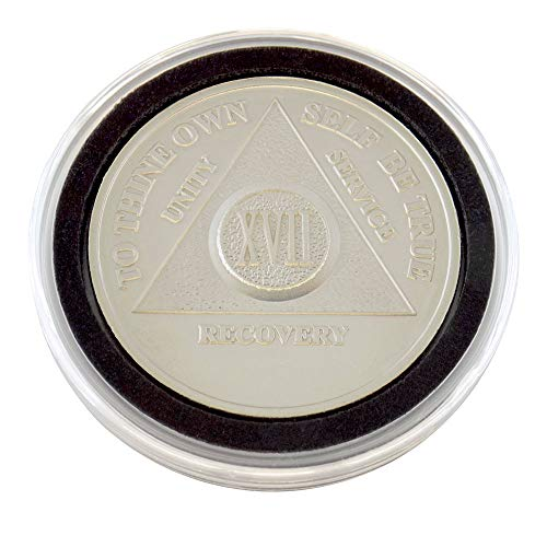 17 Year - Special AA Coins - .999 Silver AA Medallion   Recovery Shop (Coin Ounce 0.5 Silver)