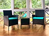 Viewee 3 Pieces Patio Furniture Sets-Patio