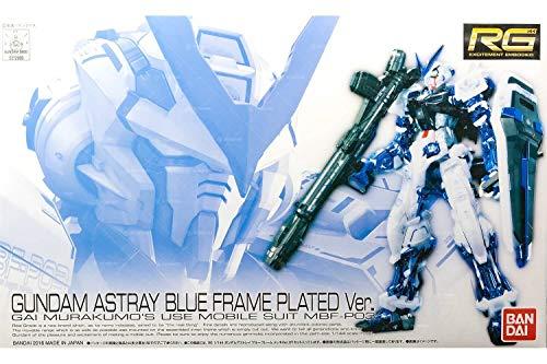 BANDAI RG 1/144 Gundam Astray Blue Frame Plated Ver. (Japan Import)