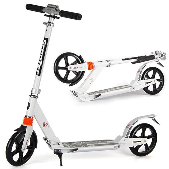 ACZZ Patinete plegable para adolescentes adultos, scooter de ...