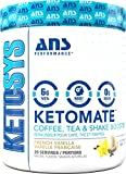 Ketomate – Ketogenic Keto Booster Creamer for Coffee, Tea & Shakes | Zero Sugar & Low Carb Keto Friendly Beverage Enhancer | Boost Energy, Metabolism & Mental Focus (French Vanilla) For Sale