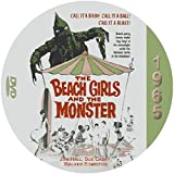 Beach Girls And The Monster (1965) Classic Sci-fi and Horror Movie DVD-R