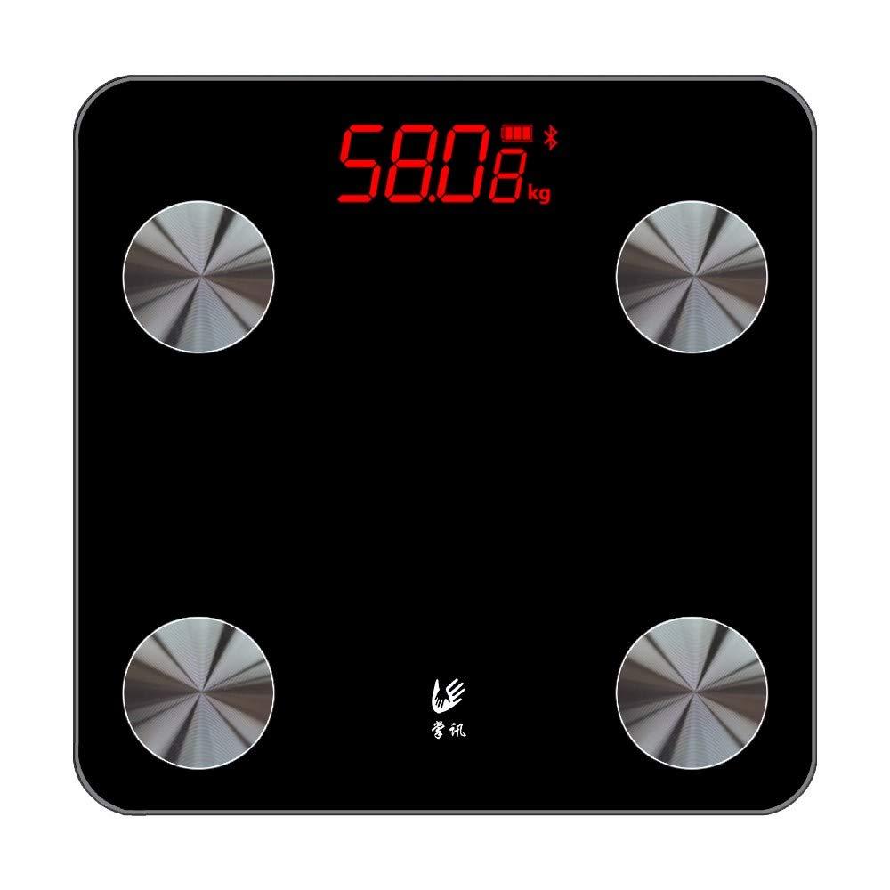 CXQ menschliche Körpergewichtskala USB-Aufladung führte elektronische Waagen-Ausgangsgewichtskala