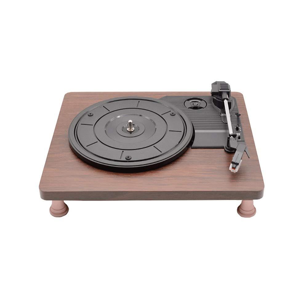 Zyy Reproductor de Discos Stir It Up: Tocadiscos de bambú ...